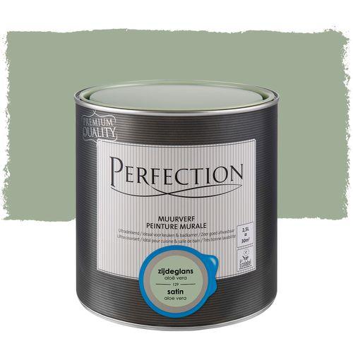 Peinture murale Perfection ultra couvrante aloe vera satin 2,5L