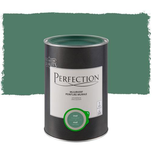 Perfection ultradekkende muurverf Woudgroen mat 1L