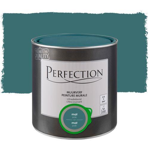 Perfection ultradekkende muurverf Jade mat 2,5L