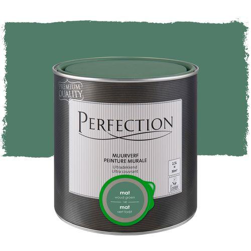 Perfection ultradekkende muurverf Woudgroen mat 2,5L