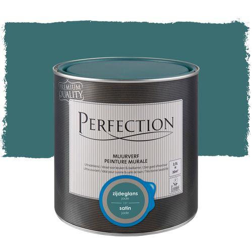Peinture murale Perfection ultra couvrante jade satin 2,5L