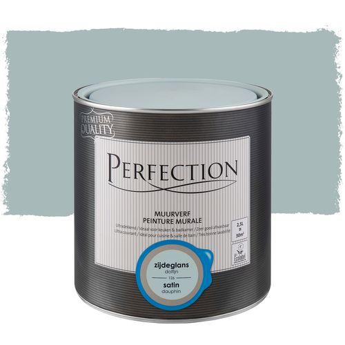 Peinture murale Perfection ultra couvrante dauphin satin 2,5L