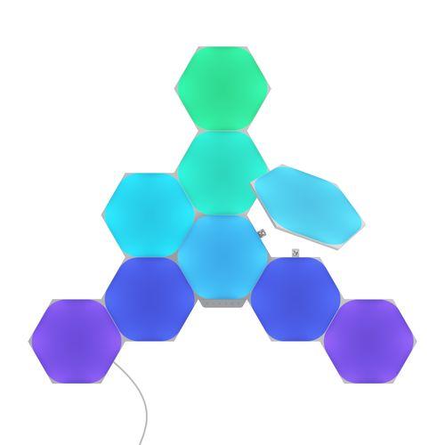 Kit de démarrage hexagones Nanoleaf Shapes - 9 panneaux