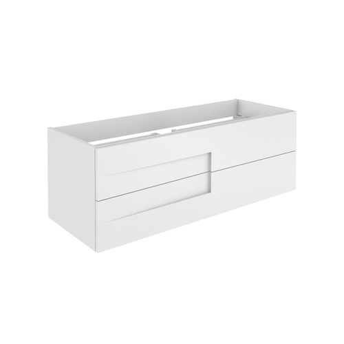 Meuble sous-lavabo Allibert Wander brillant blanc 120cm