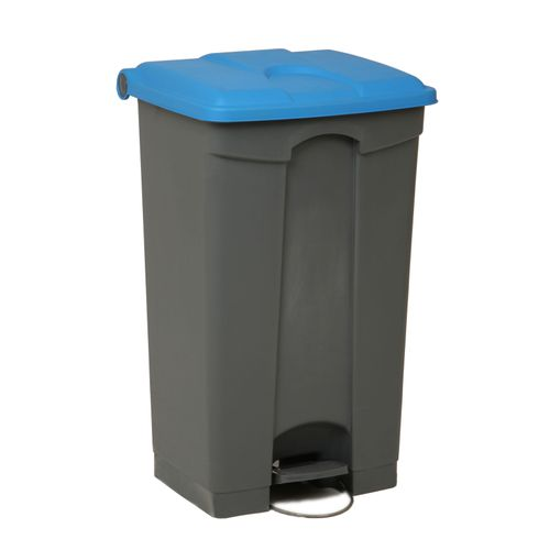 Engels poubelle 90L bleu gris