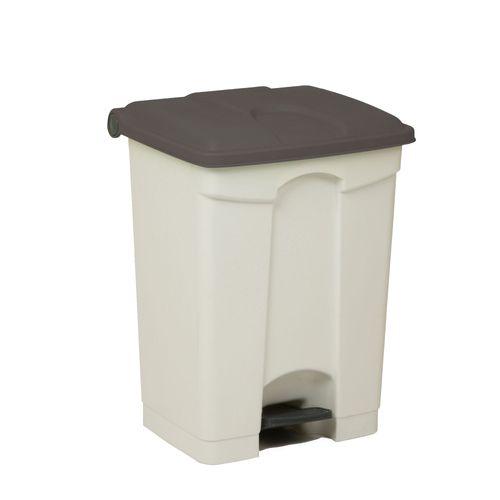 Engels déchets 70L gris blanc