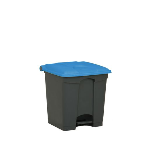 Engels poubelle 30L bleu gris