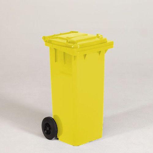 Engels conteneur poubelle jaune 120L