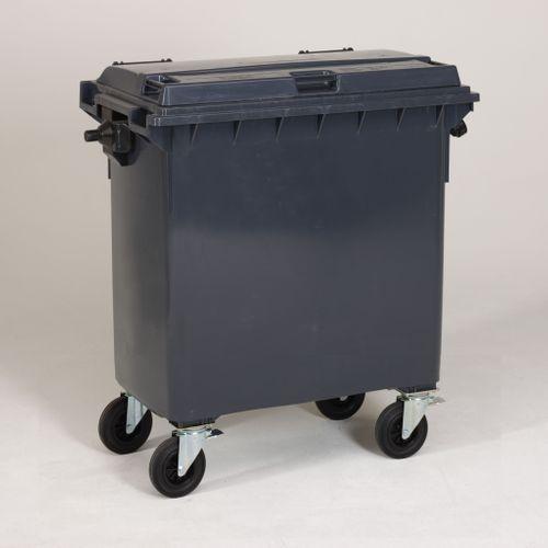 Engels conteneur poubelle gris 770L