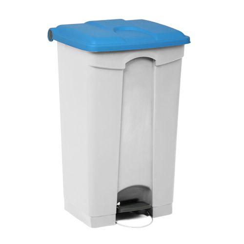 Engels déchets 90L bleu blanc