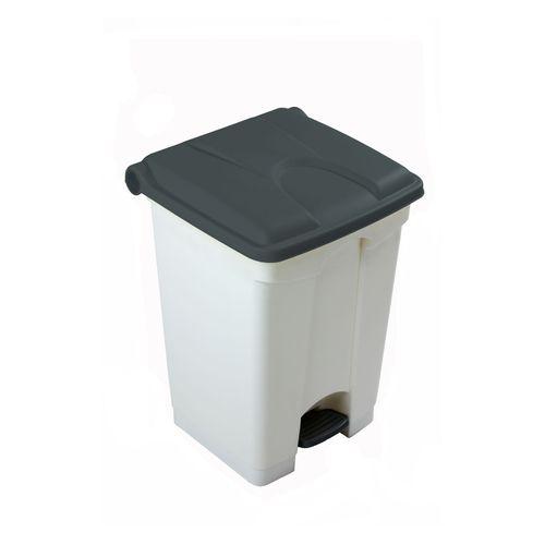 Engels déchets 45L gris blanc