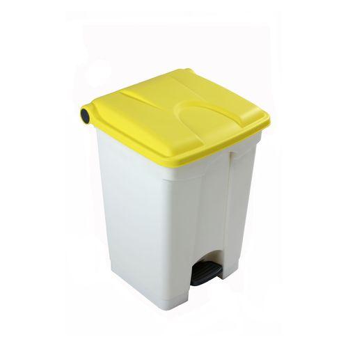 Engels poubelle 45L jaune blanc