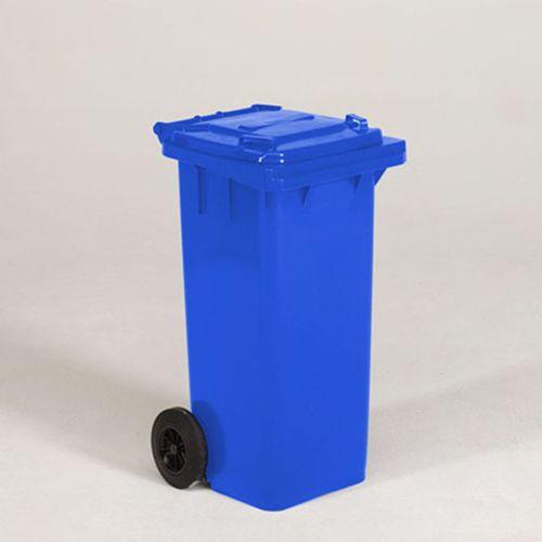 Engels conteneur poubelle bleu 120L