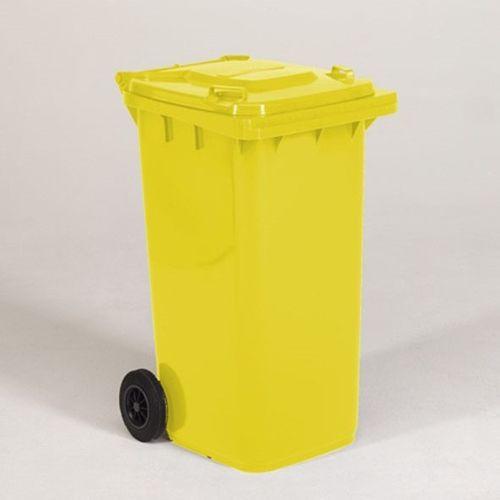 Engels conteneur poubelle jaune 240L