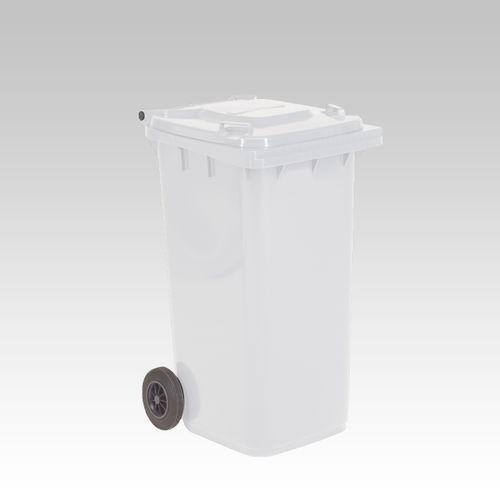 Engels conteneur poubelle blanc 240L