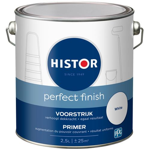 Histor voorstrijk Perfect Finish wit 2,5L