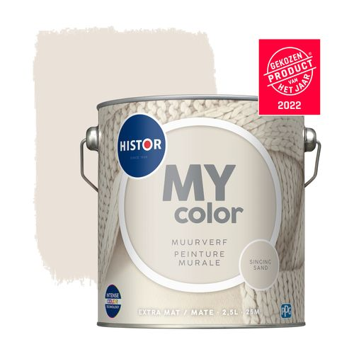 Histor muurverf My Color extra mat Singing Sand 2,5L