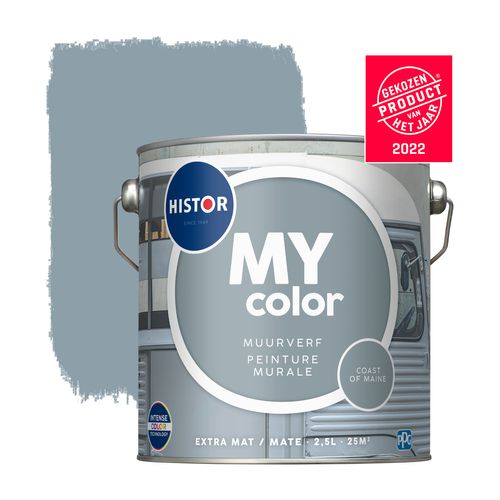 Histor muurverf My Color extra mat Coast Of Maine 2,5L