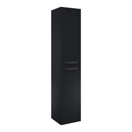 Elita kolomkast Ness 30cm 2 deuren zwart mat