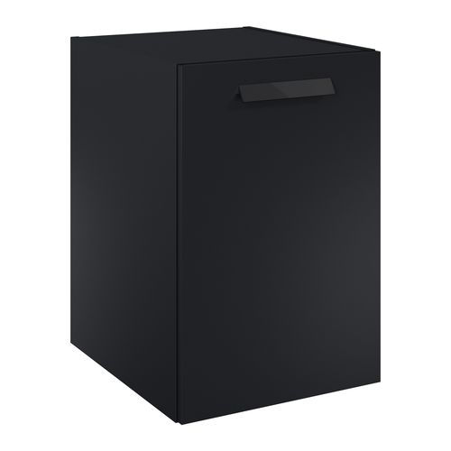 Elita wastafelonderkast Ness 40cm 1 deur mat zwart