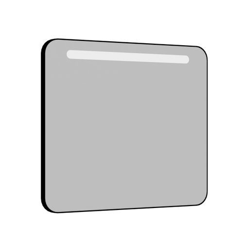 Allibert spiegel Retro met verlichting 80cm