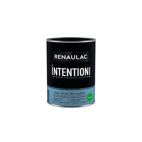 Peinture murale Renaulac Intention Mur & plafond clear thought extra mat 1L