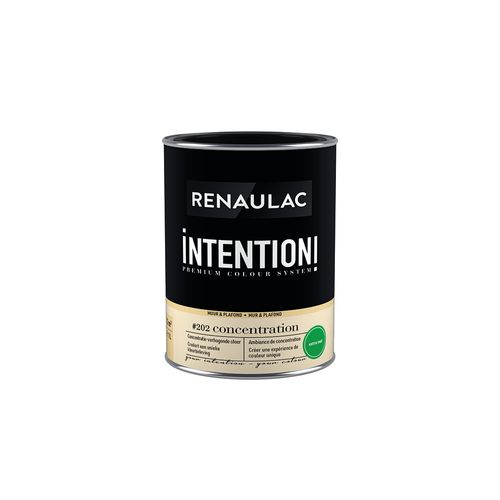 Peinture murale Renaulac Intention Mur & plafond concentration extra mat 1L