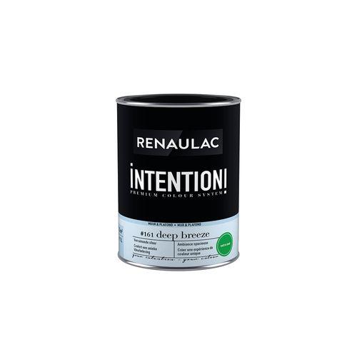 Peinture murale Renaulac Intention Mur & plafond deep breeze extra mat 1L