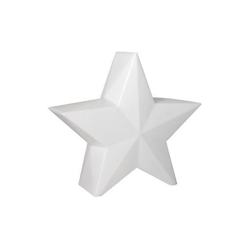 Newgarden étoile iluminée Nova 60 extérieur blanche