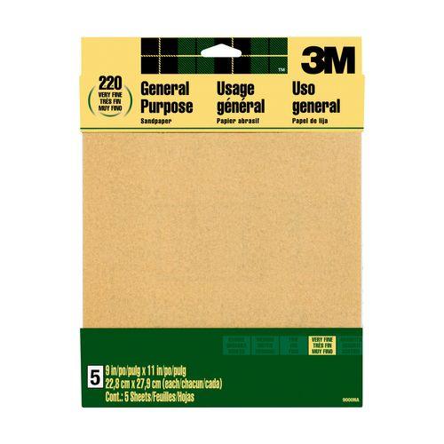 3M™ schuurpapier aluminiumoxide 9000NA 22,9x27,9cm 5st/pak