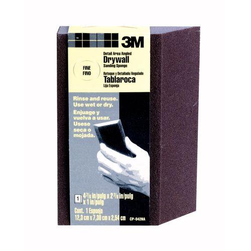 3M™ schuurspons voor hoeken en randen fijn CP042BNL 12,3x7,3x2,5cm 1st
