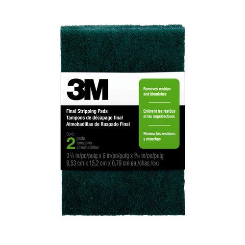 3M™ schuurpad voor lichte lak en verfverwijdering7414BG 2 pcs