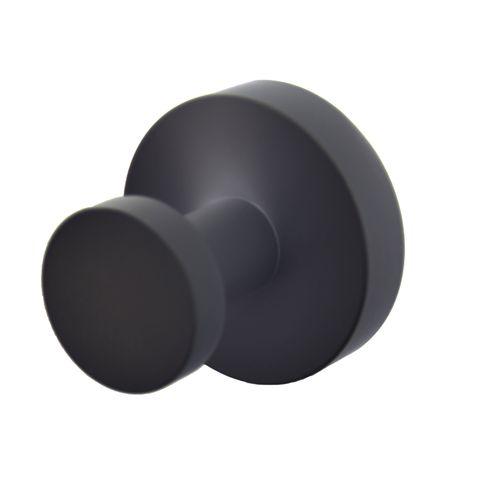 Plieger handdoekhaak magnetisch 49mm mat zwart