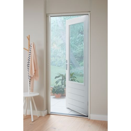 CanDo rolhor deur standaard 105x215cm wit