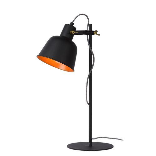 Lucide tafellamp Pia zwart E27