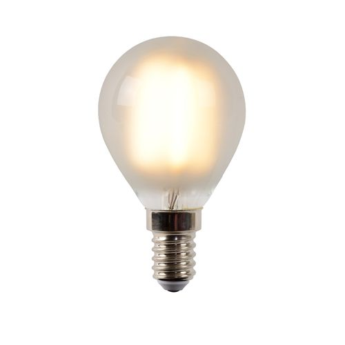Lampe à incandescence Lucide LED verre mat 4W E14