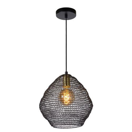 Lucide hanglamp Saar zwart E27