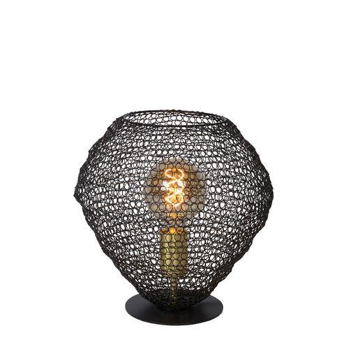 Lucide tafellamp Saar zwart E27
