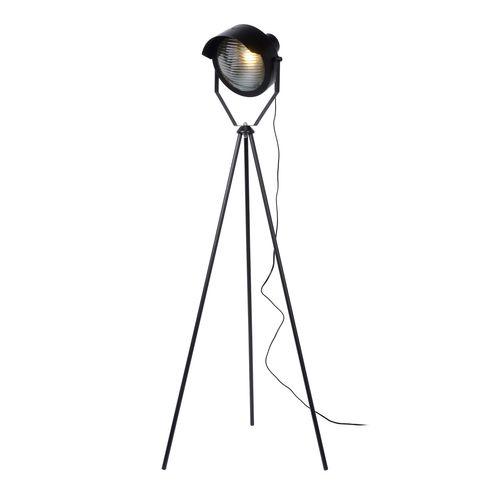 Lucide vloerlamp Cicleta zwart E27