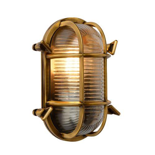 Lucide wandverlichting Dudley goud E27