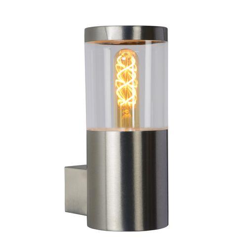 Lucide wandverlichting Fedor grijs E27