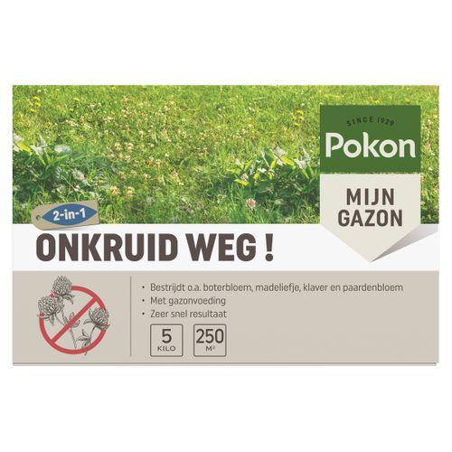 Pokon 2-in-1 Onkruid Weg 5000gr