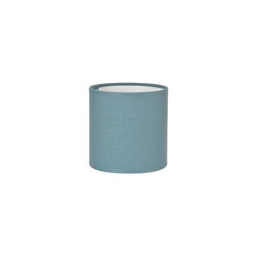 Abat-jour Corep coton toiline petrole Ø15cm
