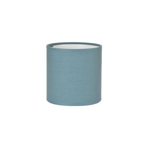 Abat-jour Corep coton toiline petrole Ø18cm