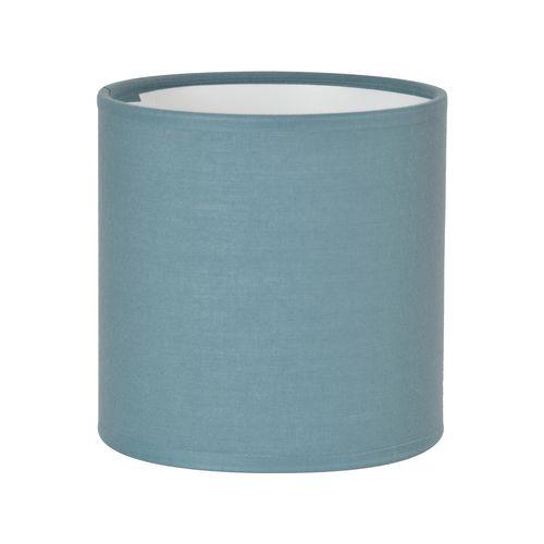 Abat-jour Corep coton toiline petrole Ø35cm