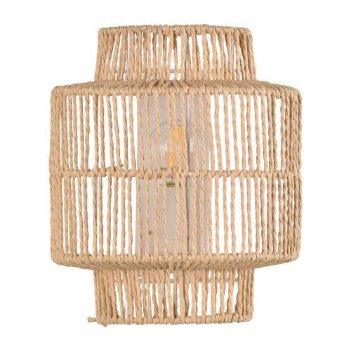 Corep wandlamp Cancun gevlochten draad E14
