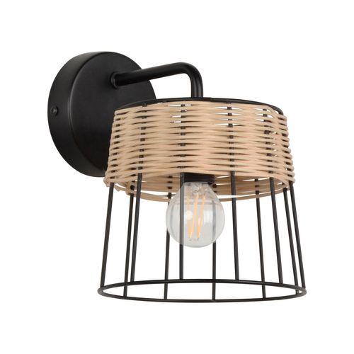 Corep wandlamp Indah rotan E14