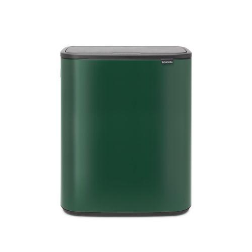 Poubelle Brabantia Bo Touch Bin Pine Green 2x30L