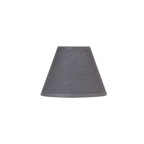 Abat-jour Corep lin lavé anthracite Ø25cm