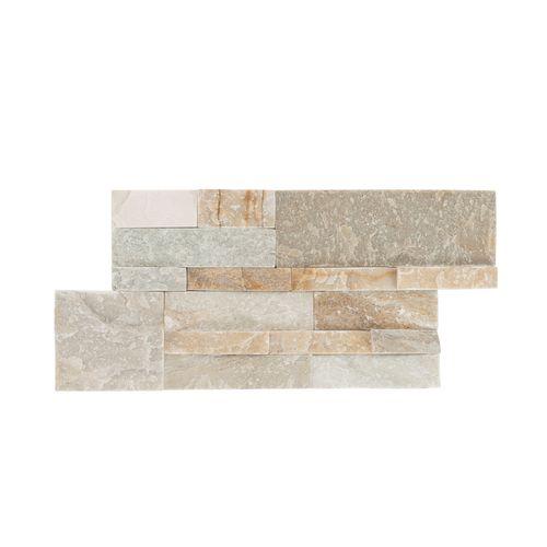 Wandbekledingspaneel Elegance beige/grijs 18x40cm 0,44m²